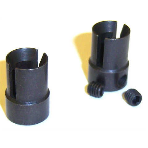 HSP Drive Cups Driven Cup Universal Joint x 2 10mm Diameter to fit 5mm shaft.