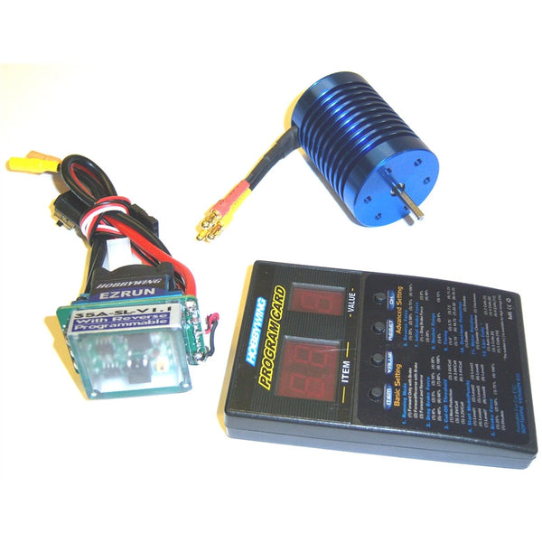 Rc Esc 540 Motor Brushless 35a Kv3421 1 10 Kit Combo