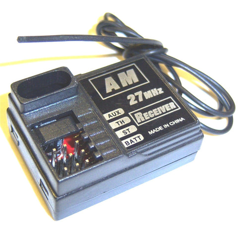 B7011 Micro Mini 2 Channel AM Reciever Receiver 27mhz RC