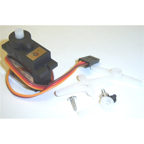 Throttle / Steering Mini Micro Servo 1.3kg Torque RC Nitro 1/16