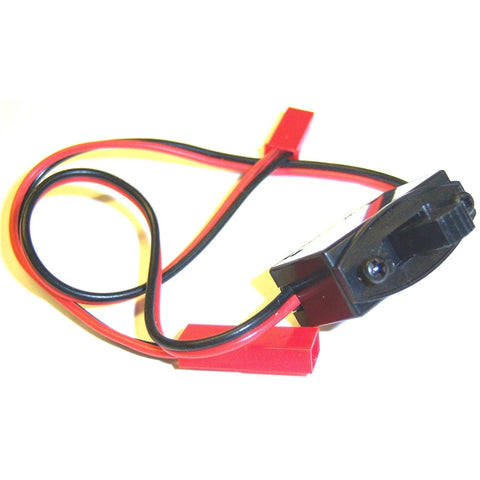 RC Electric On Off Switch 2 Pin BEC Connector Leads