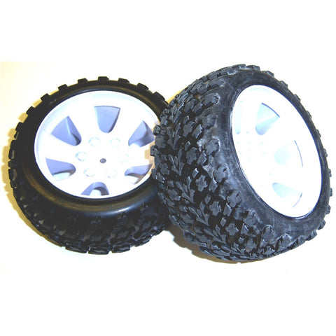 BS903-002 1/10 Scale Off Road Buggy Wheels and Tyres x 2