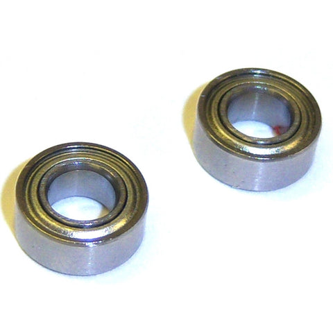 RC Metal Clutch Ball Bearings 10mm by 5mm by 4mm 10x5x4 10 x 5 x 4 2pc