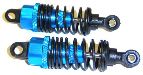 102004 02114 1/10 Car RC Alloy Oil Filled Shock Absorber Damper 2 Blue HSP 60mm