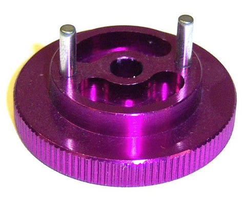 102006 Aluminium Anodised Purple Nitro Engine Flywheel