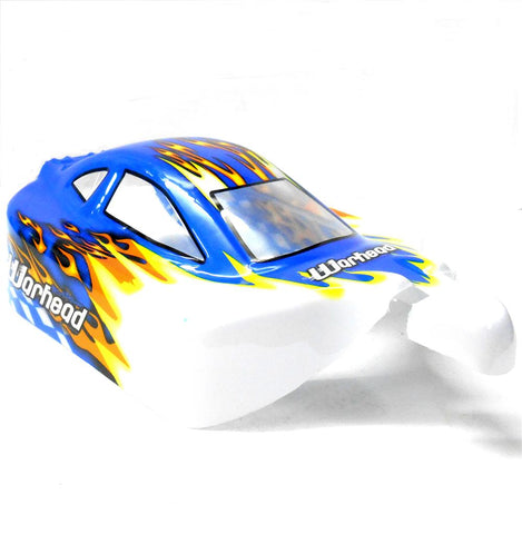 06027 10709 Off Road Nitro RC 1/10 Scale Buggy Body Shell Light Blue Cut