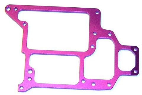 108065 1/10 Alloy Upper Plate Radio Tray Purple HSP x 1