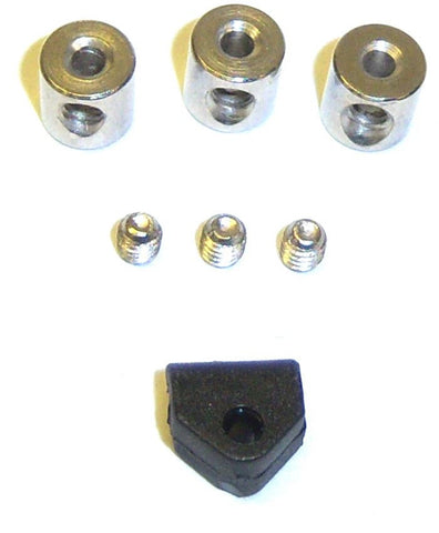 11343 103043 Locater Stoppers Silver 2mm ONLY