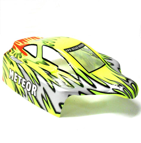 18504 Off Road Nitro RC 1/16 Scale Buggy Body Shell Green Cut