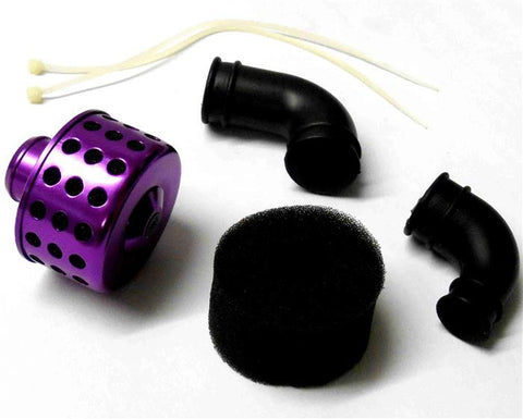 51705P Short Purple Alloy RC Air Filter Sponge 1/10 1/8