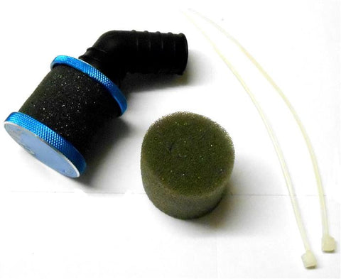51706B Blue Open Alloy Air Filter Sponge 1/10 Scale