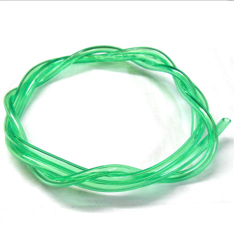 51826G Neon Green RC Engine Petrol or Nitro Gas Fuel Line 1 Meter 5mm x 2.5mm