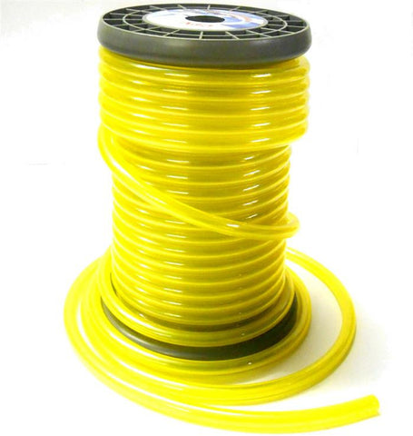 51828Y Neon Yellow RC Engine Petrol / Nitro Gas Fuel Line 1 Meter 9mm x 5mm