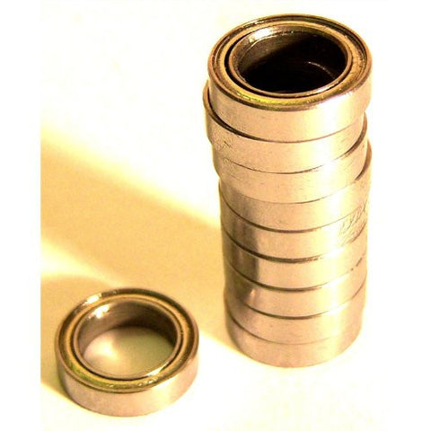 10 X Metal Sealed Ball Bearings 22mm X 10mm X 6mm 22x10x6 22 x 10 x 6