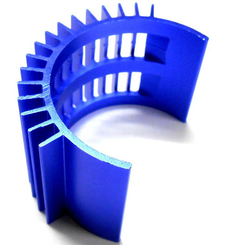 52505B 540 560 Motor RC Heatsink Cooling Head Vent Blue