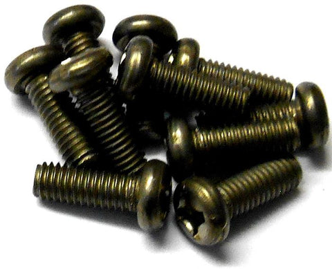 57708P 3mm x 8mm Titanium Button Head Philip Screws 10