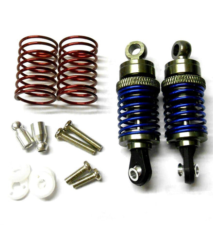 58050T 1/10 Scale RC Alloy Shock Absorbers Damper Set x 2 Titanium 50mm Long