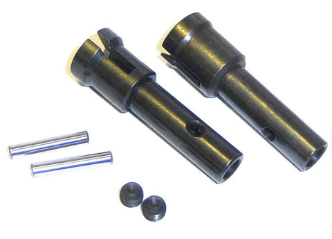 60093 Wheel Axle x 2 - 1/8 Parts HSP Tornado