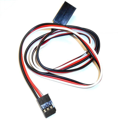 8004F RC Futaba Servo Extension Lead 600mm Long 3 Pin 60cm