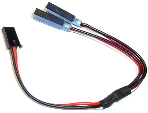 8010F Futaba Connector Servo Y Extension Lead Wire 15cm 150mm