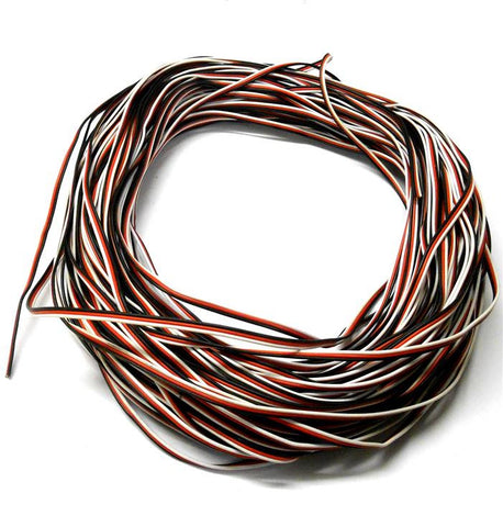 Futaba Extension Lead Wire Flat 1m 100cm 1000mm 26AWG