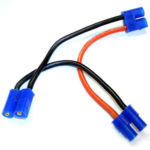 8028 EC3 Battery Y Harness Charging Cable 14AWG Wire Series