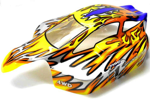 81344 Off Road Nitro RC 1/8 Scale Buggy Body Shell Flame HSP