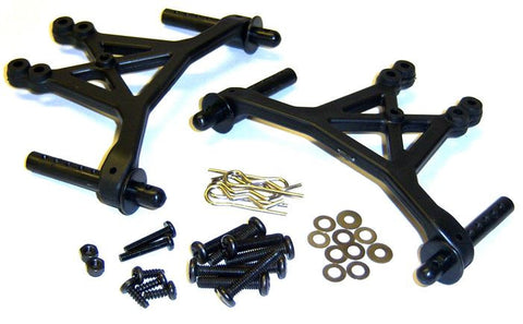 83009 Body Mounts and Shock Tower - 1/8 Parts HSP
