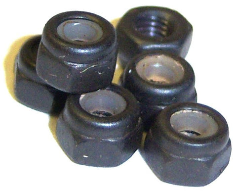 85793 6 x Nylon Lock Nuts M3 3mm - HSP 1/8 Part Tornado