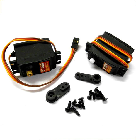 B7014.8 3kg & 9kg High Torque Throttle & Steering Servo Nitro Models RC Buggy x2