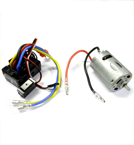 1/10 Rock Crawler ESC RC Electric 7.2v 70T + 540 70 Turn Motor Combo T-Plug