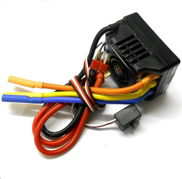 esc electronic speed controller brushless 80a 1  8 scale
