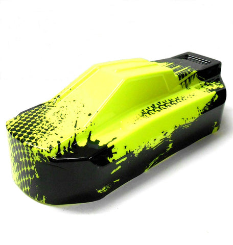 BS819-033G 1.8 Scale RC Electric EP Narrow Body Shell Cover Green