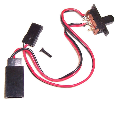 BS903-034 HI903-034 RC Model Buggy Receiver JR 3 Pin On Off Switch  - BSD Parts