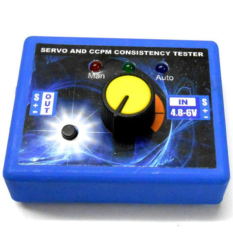 RC Servo Tester Checker - Can check 3 servos without RC
