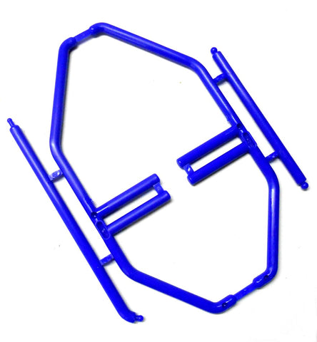 HY00165B RC 1/10 Navy Blue Interior Roll Cage Posts Plastic