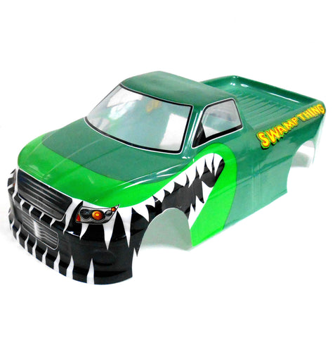 JLB35 RC 1/10 Scale Monster Truck Body Shell Cover Green Uncut