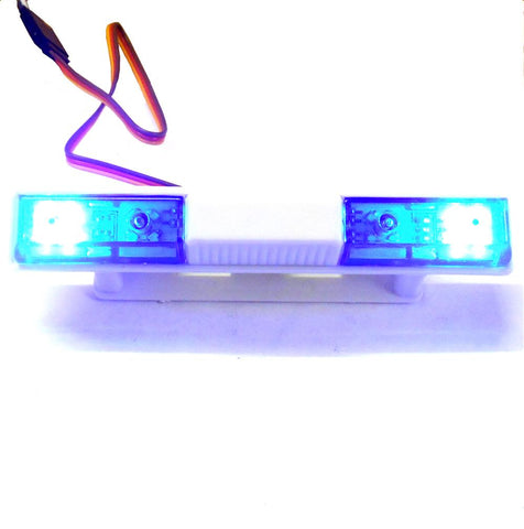 Ly501 110 body shell direct roof mount rc police light bar led ly501 110 body shell direct roof mount rc police light bar led rotational blue aloadofball Images