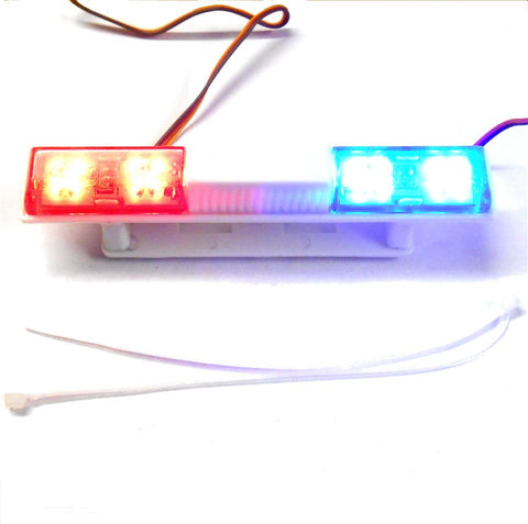 Ly502 110 body shell direct roof mount rc police light bar led ly502 110 body shell direct roof mount rc police light bar led rotational b aloadofball Images