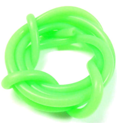 S10010G Light Green Silicone RC Nitro Glow Fuel Line Tube Pipe 1 Meter 5mm 2.5mm