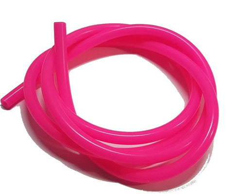 Fluorescent Solid Pink Silicone RC Nitro Glow Fuel Line Tube Pipe 1 Meter