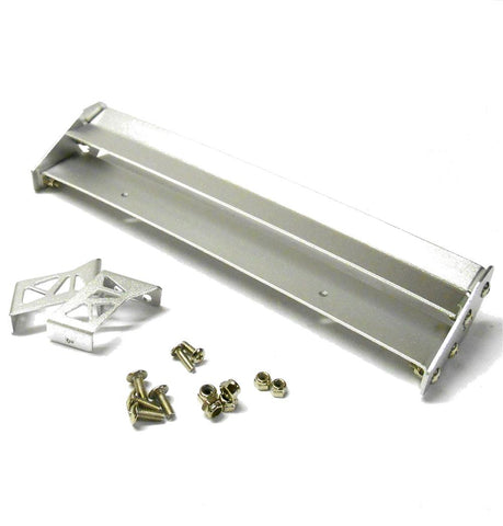YA-0161SV 1/10 Racing Car RC Body Shell Cover Touring Rear Wing Spoiler Silver