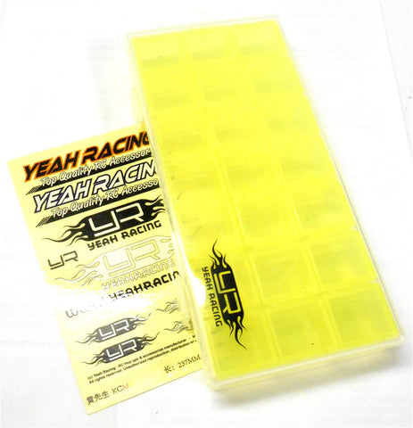 YA-0323 Yeah Racing Multi Function Storage Box For RC Screws Bits Bobs 179mm