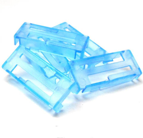 C0121 RC Servo Plastic Extension Lock x 5 Light Blue