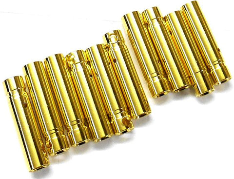 C0403 RC 4mm 4.0mm Gold Banana Female Connector Plug 10
