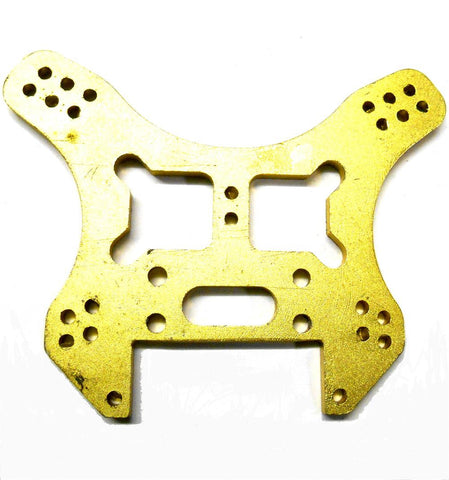 L11054 1/8 Scale Buggy Shock Tower Plate x 1 Alloy Yellow / Gold