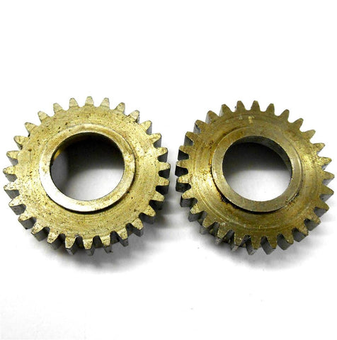 L11055 RC 1/8 Scale Metal Steel Gear Module 1 28T 28 Teeth Tooth x 2