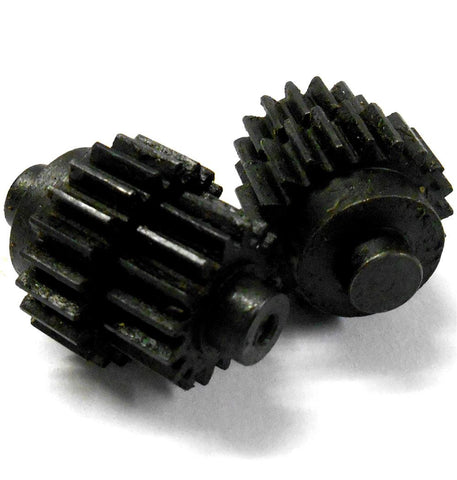 L11087 1/8 Scale Inner 2 Speed Gearbox Gear x 2 Steel Black 16T / 21T