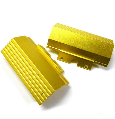 L11089 1/10 Scale Buggy Front Bumper Deflector Alloy Gold Yellow x 1
