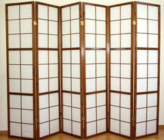 Image of 6 panel room screens - Room Dividers